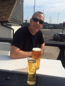 Cheeky beer in the sun