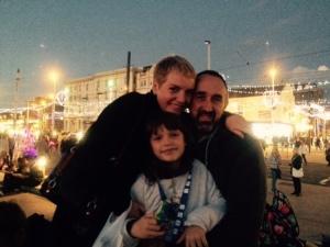 Dee, Paul and Anya x