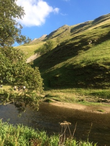 Blue skys at Dovedale