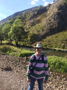 Paul at Dovedale looking the part