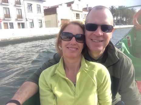 Boat ride in the sun