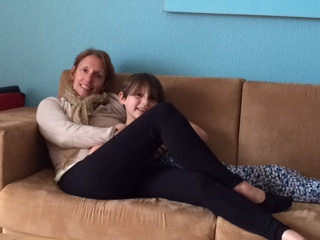Aunty Andrea & Anya Chilling out