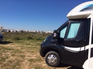 Boris Parked up at Ferragudo