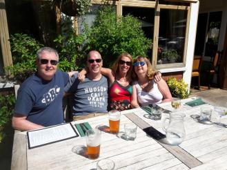 Lunching at the Sparrowhawk Ainsdale
