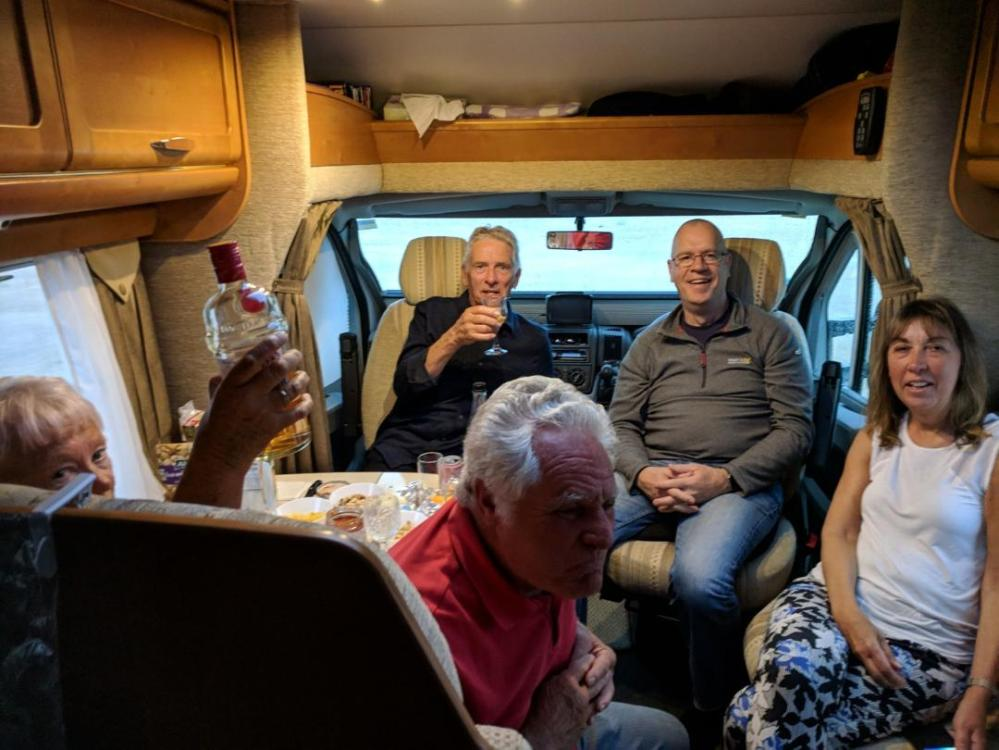 motorhome drinks